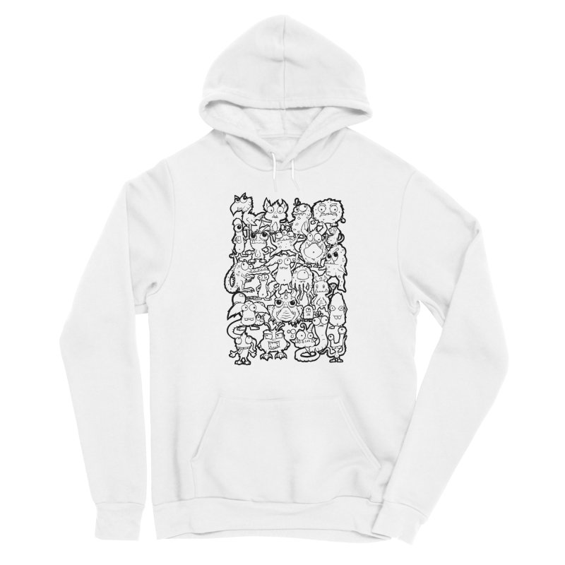 Monster Party - The Great Meeting!  Classic Edition Men's Pullover Hoody by ARTinfusion - Get your's now!