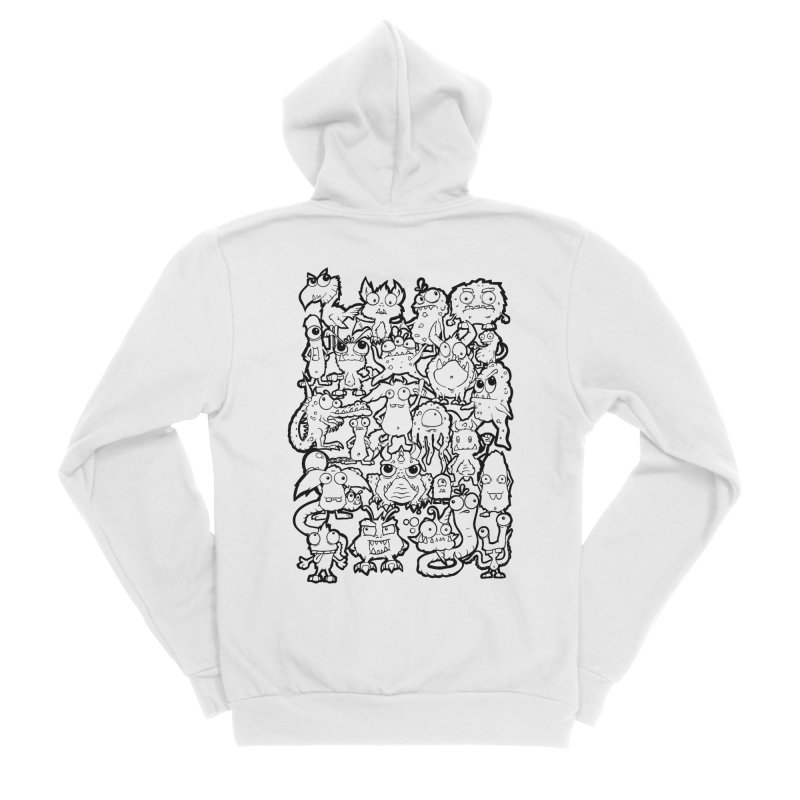 Monster Party - The Great Meeting!  Classic Edition Women's Zip-Up Hoody by ARTinfusion - Get your's now!