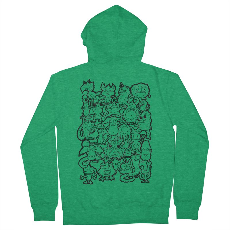 Monster Party - The Great Meeting!  Classic Edition Men's Zip-Up Hoody by ARTinfusion - Get your's now!