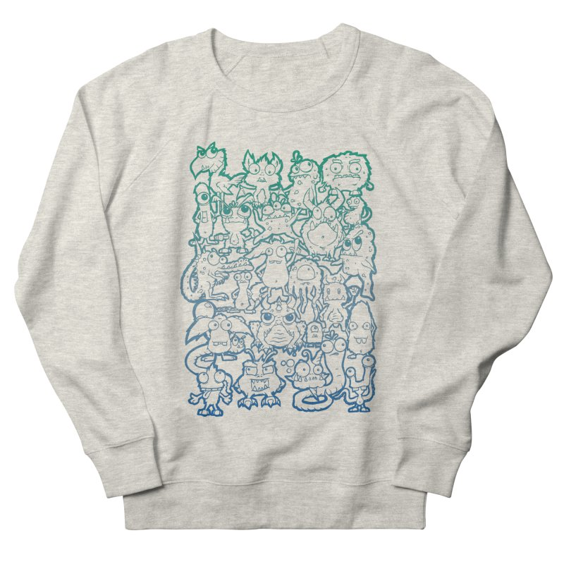 Monster Party - The Great Meeting! Blue Edition Women's Sweatshirt by ARTinfusion - Get your's now!