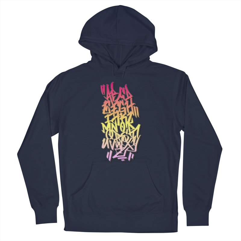 Graffiti Tag ABC - Color Edition Men's Pullover Hoody by ARTinfusion - Get your's now!