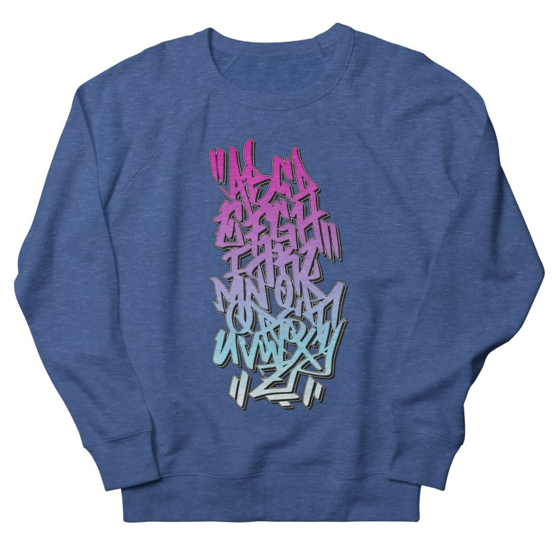 Graffiti Tag ABC - Pink Edition Men's Sweatshirt by ARTinfusion - Get your's now!
