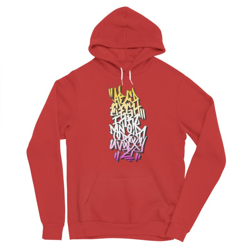 Graffiti Tag ABC - Summer Edition Men's Pullover Hoody by ARTinfusion - Get your's now!