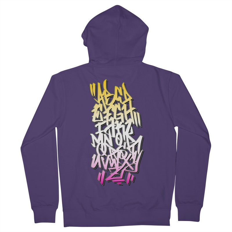 Graffiti Tag ABC - Summer Edition Women's Zip-Up Hoody by ARTinfusion - Get your's now!