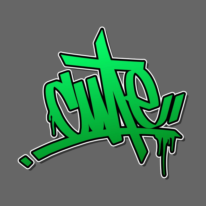 Cute / Green Men's T-Shirt by ARTinfusion - Get your's now!