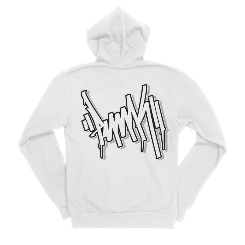Punk / White Tag Men's Zip-Up Hoody by ARTinfusion - Get your's now!