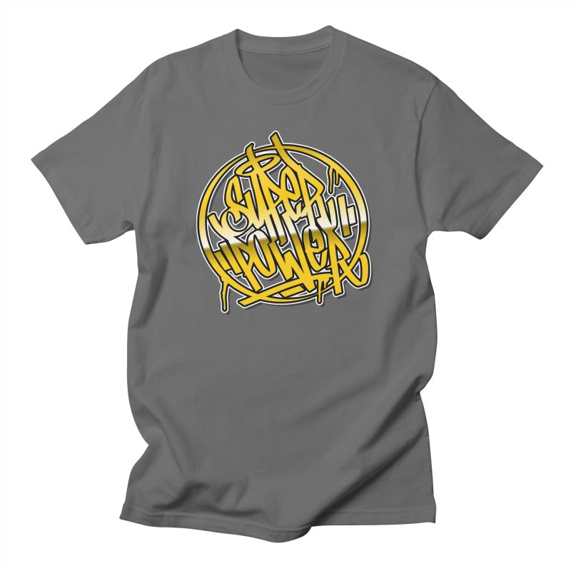 Super Power / Gold Men's T-Shirt by ARTinfusion - Get your's now!