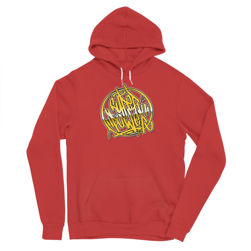 Super Power / Gold Women's Pullover Hoody by ARTinfusion - Get your's now!