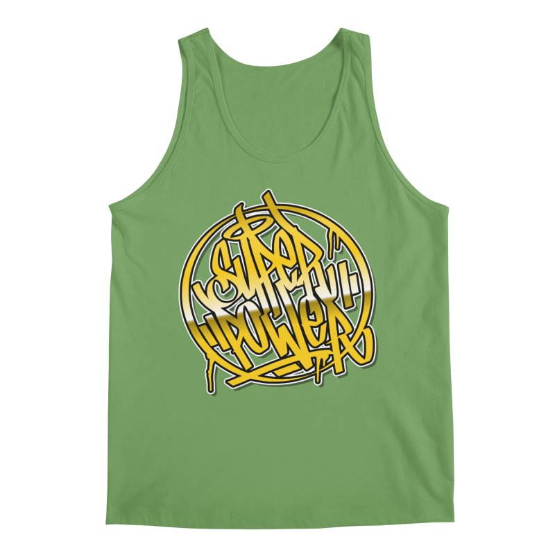 Super Power / Gold Men's Tank by ARTinfusion - Get your's now!