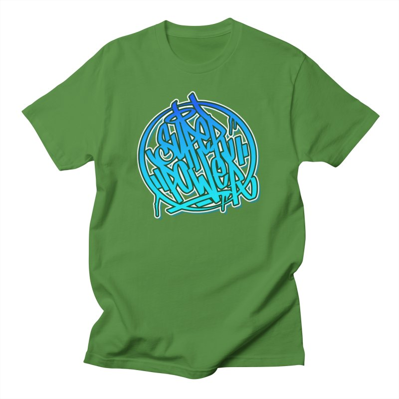 Super Power / Blue Men's T-Shirt by ARTinfusion - Get your's now!