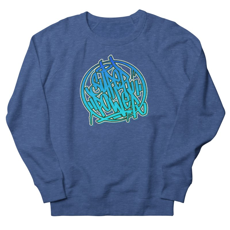 Super Power / Blue Men's Sweatshirt by ARTinfusion - Get your's now!