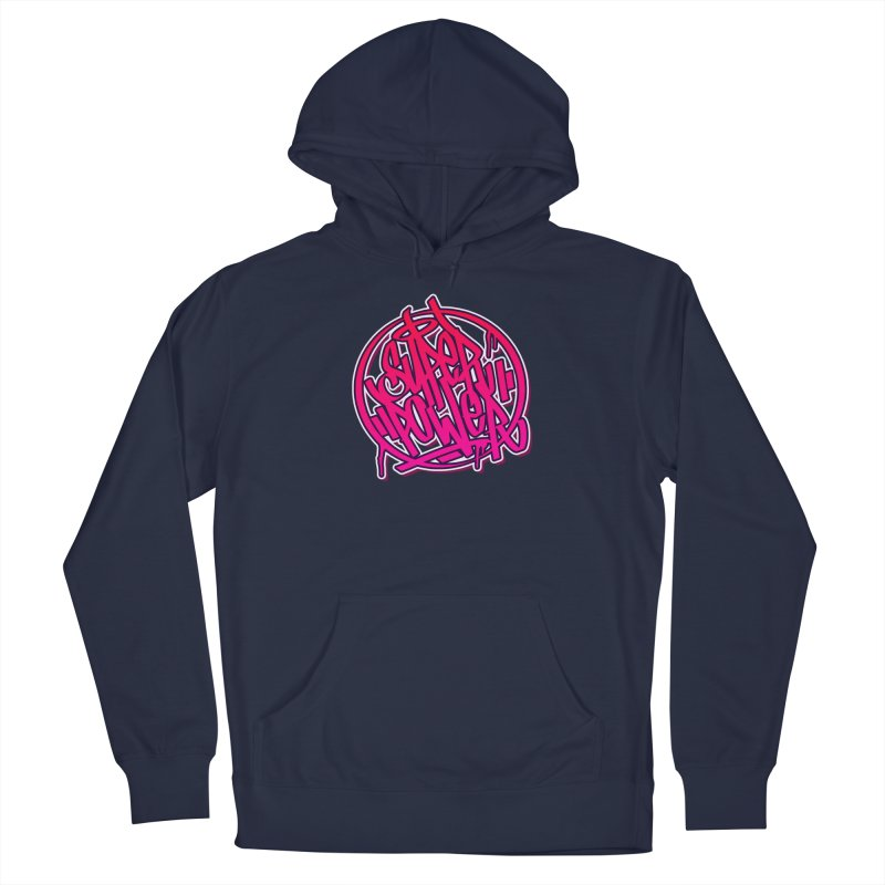 Super Power / Pink Men's Pullover Hoody by ARTinfusion - Get your's now!
