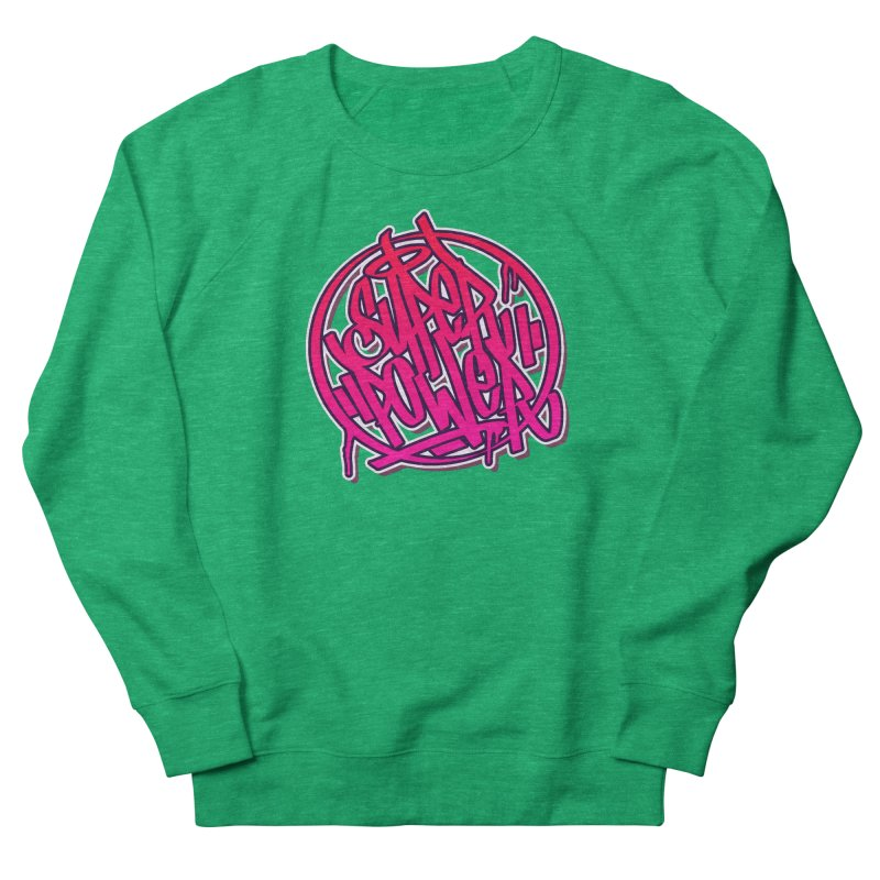 Super Power / Pink Men's Sweatshirt by ARTinfusion - Get your's now!