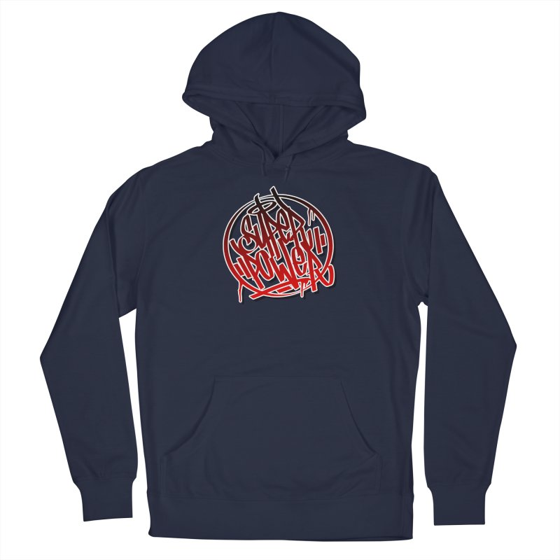 Super Power / Red Men's Pullover Hoody by ARTinfusion - Get your's now!