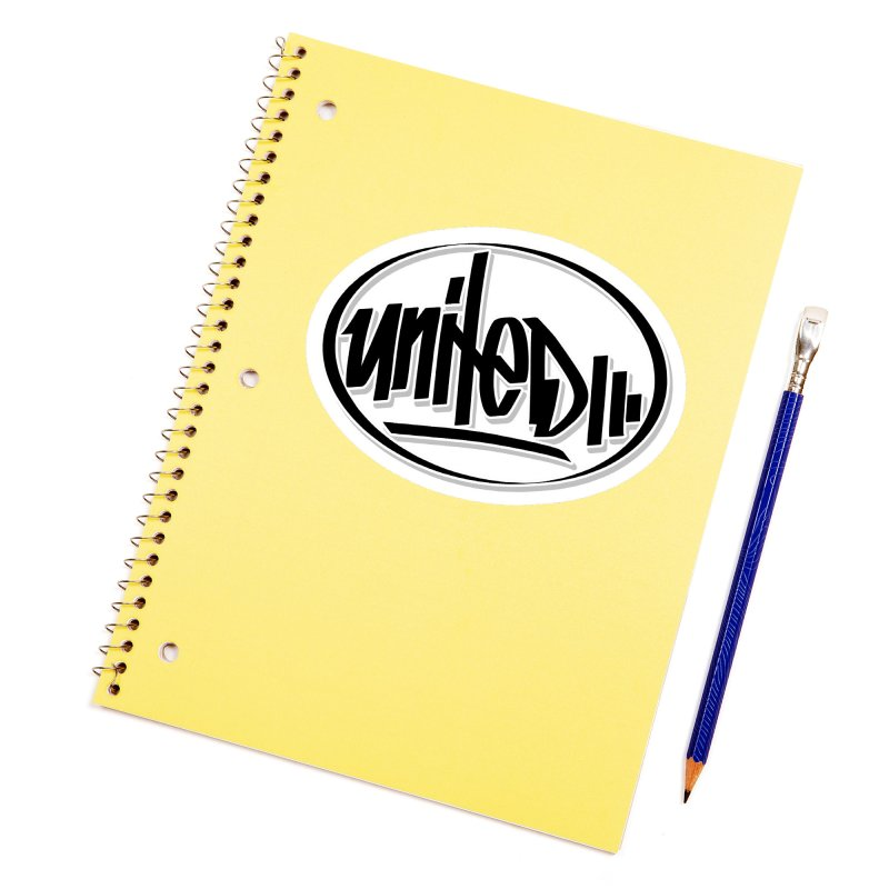 United / Classic Accessories Sticker by ARTinfusion - Get your's now!