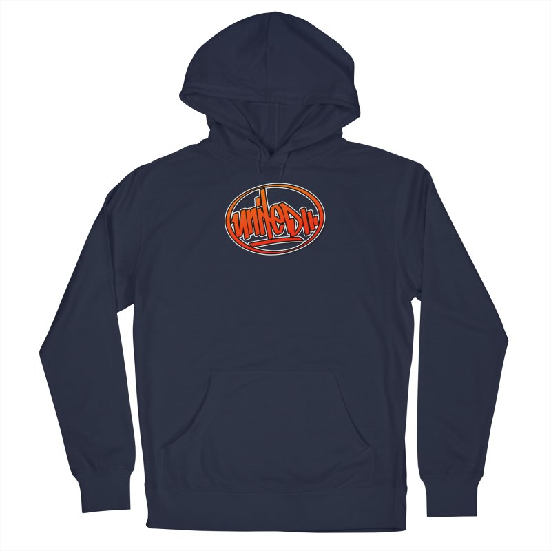 United / Red Men's Pullover Hoody by ARTinfusion - Get your's now!