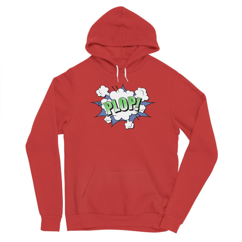 Wow! Zap! Bang! Pow! - Vintage Pop Art Comic Design - Green - Plop! Men's Pullover Hoody by ARTinfusion - Get your's now!