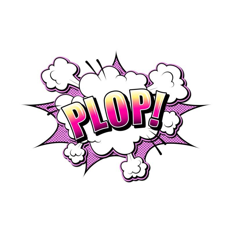 Wow! Zap! Bang! Pow! - Vintage Pop Art Comic Design - Purple - Plop! Men's Zip-Up Hoody by ARTinfusion - Get your's now!