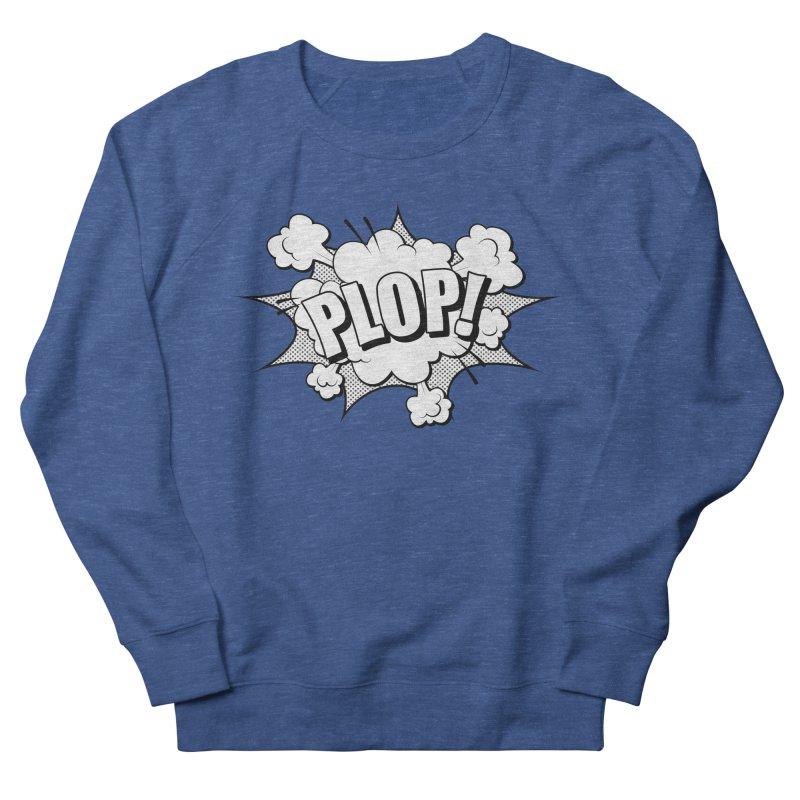 Wow! Zap! Bang! Pow! - Vintage Pop Art Comic Design -Classic - Plop! Men's Sweatshirt by ARTinfusion - Get your's now!