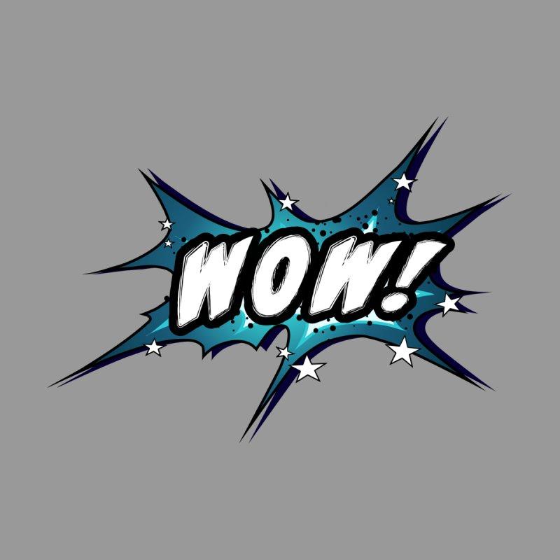 Wow! Zap! Bang! Pow! - Vintage Pop Art Comic Design - petrol - WOW! Men's T-Shirt by ARTinfusion - Get your's now!