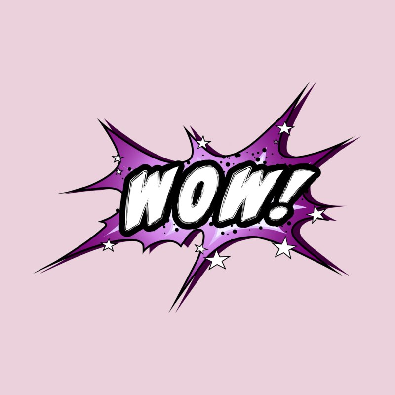 Wow! Zap! Bang! Pow! - Vintage Pop Art Comic Design - pink - WOW! Men's T-Shirt by ARTinfusion - Get your's now!