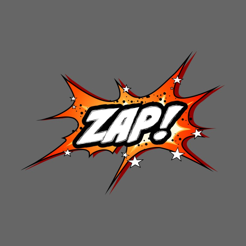 Wow! Zap! Bang! Pow! - Vintage Pop Art Comic Design - orange - ZAP! Men's T-Shirt by ARTinfusion - Get your's now!