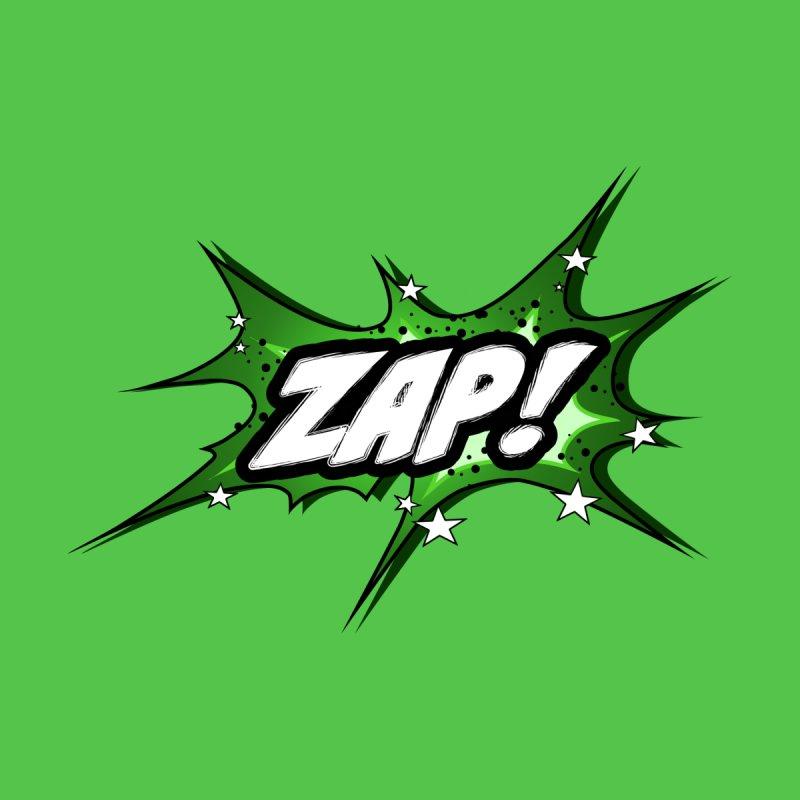 Wow! Zap! Bang! Pow! - Vintage Pop Art Comic Design - green - ZAP! Men's T-Shirt by ARTinfusion - Get your's now!