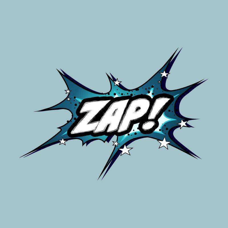 Wow! Zap! Bang! Pow! - Vintage Pop Art Comic Design - petrol - ZAP! Men's T-Shirt by ARTinfusion - Get your's now!