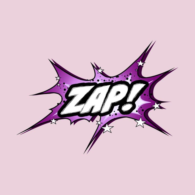 Wow! Zap! Bang! Pow! - Vintage Pop Art Comic Design - pink - ZAP! Men's T-Shirt by ARTinfusion - Get your's now!
