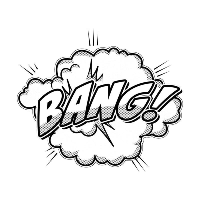 Wow! Zap! Bang! Pow! - Vintage Pop Art Comic Design - classic - Bang! Men's T-Shirt by ARTinfusion - Get your's now!