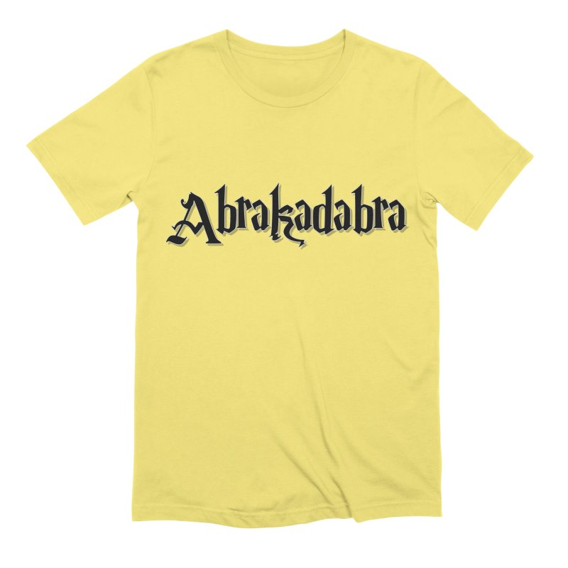 Abrakadabra - Classic Line / black Men's T-Shirt by ARTinfusion - Get your's now!