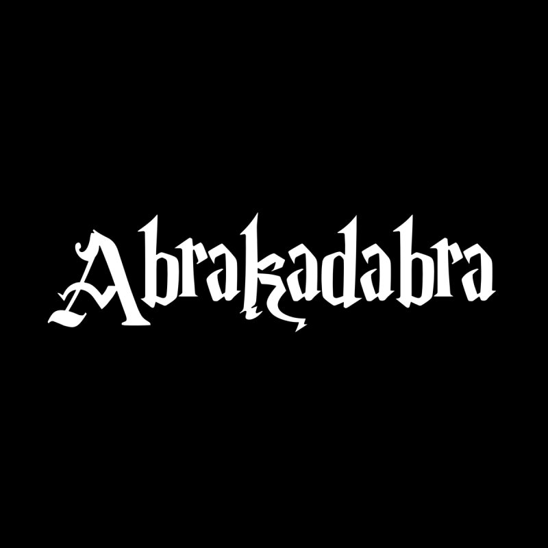 Abrakadabra - Classic Line / white Men's T-Shirt by ARTinfusion - Get your's now!
