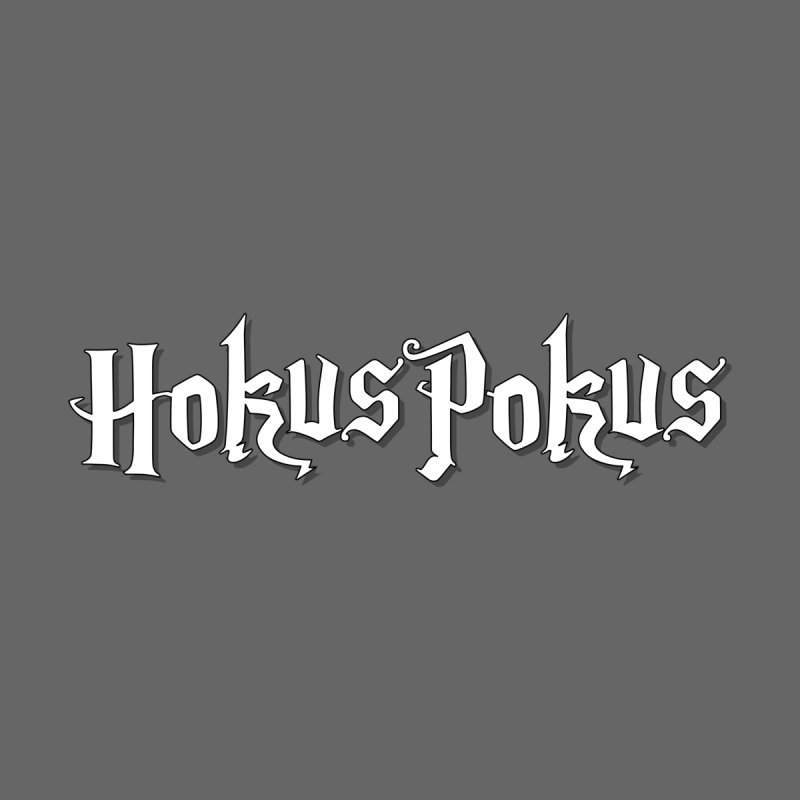 HokusPokus - classic line / white Men's T-Shirt by ARTinfusion - Get your's now!