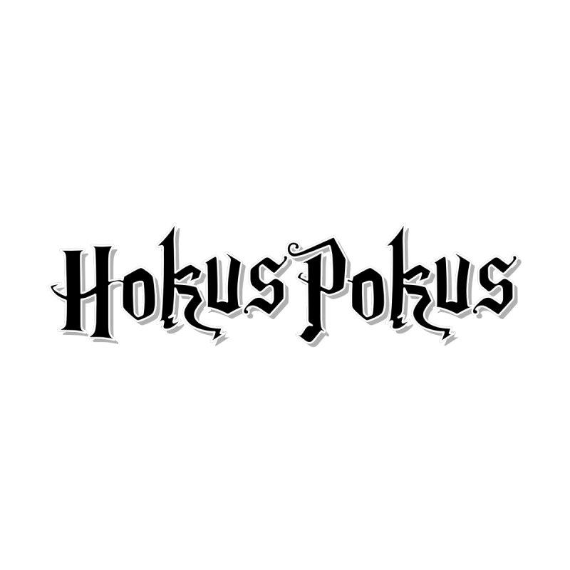 HokusPokus - classic line / black Men's T-Shirt by ARTinfusion - Get your's now!
