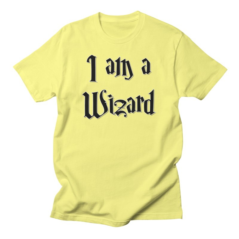 I am a Wizard.. yes I am !  - black - Men's T-Shirt by ARTinfusion - Get your's now!