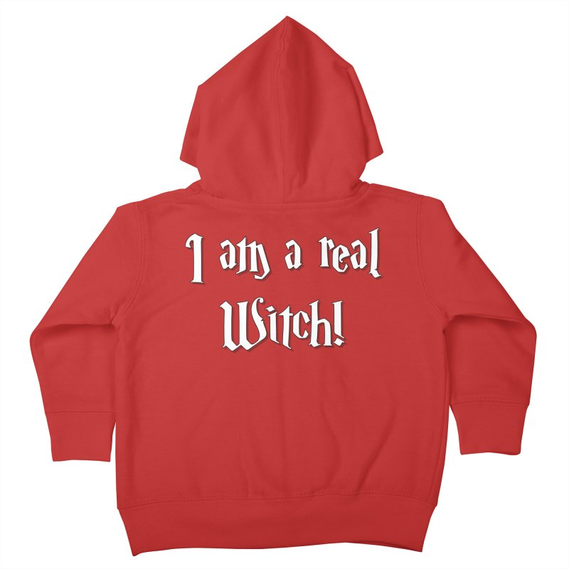 I am a real witch! ...sometimes... Kids Toddler Zip-Up Hoody by ARTinfusion - Get your's now!