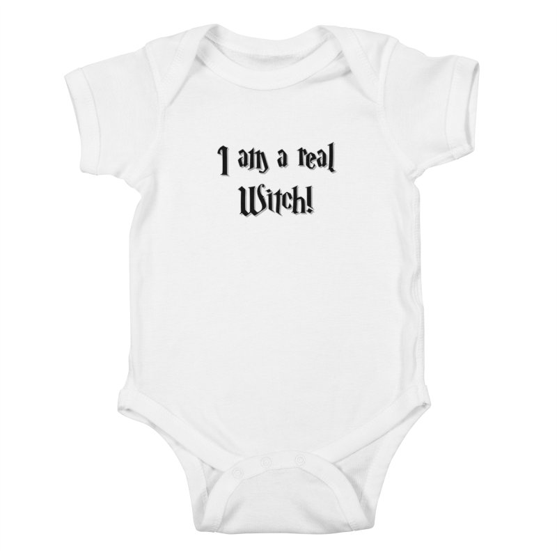 I am a real witch! ...sometimes.. Kids Baby Bodysuit by ARTinfusion - Get your's now!