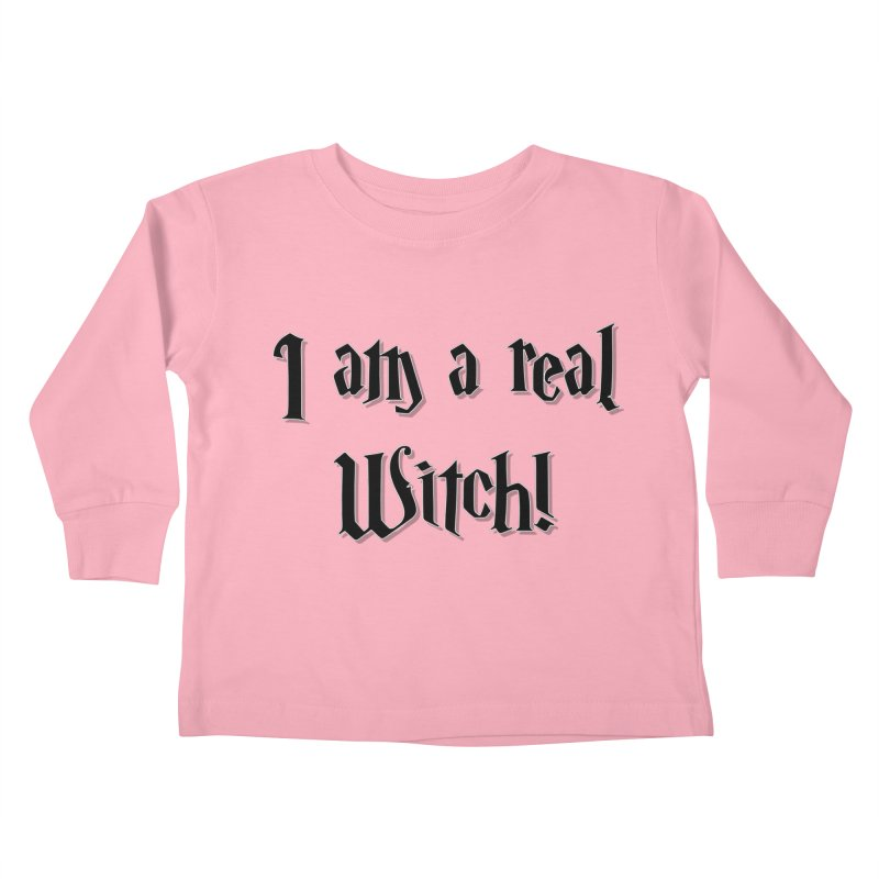 I am a real witch! ...sometimes.. Kids Toddler Longsleeve T-Shirt by ARTinfusion - Get your's now!