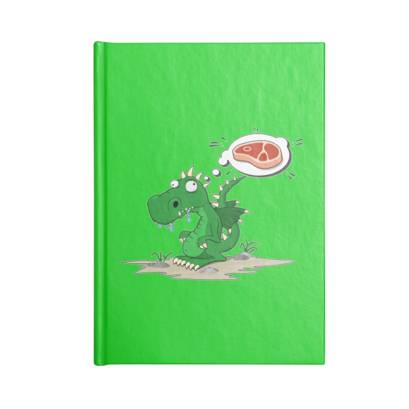 DragonRex - Meat Lover Accessories Notebook by ARTinfusion - Get your's now!