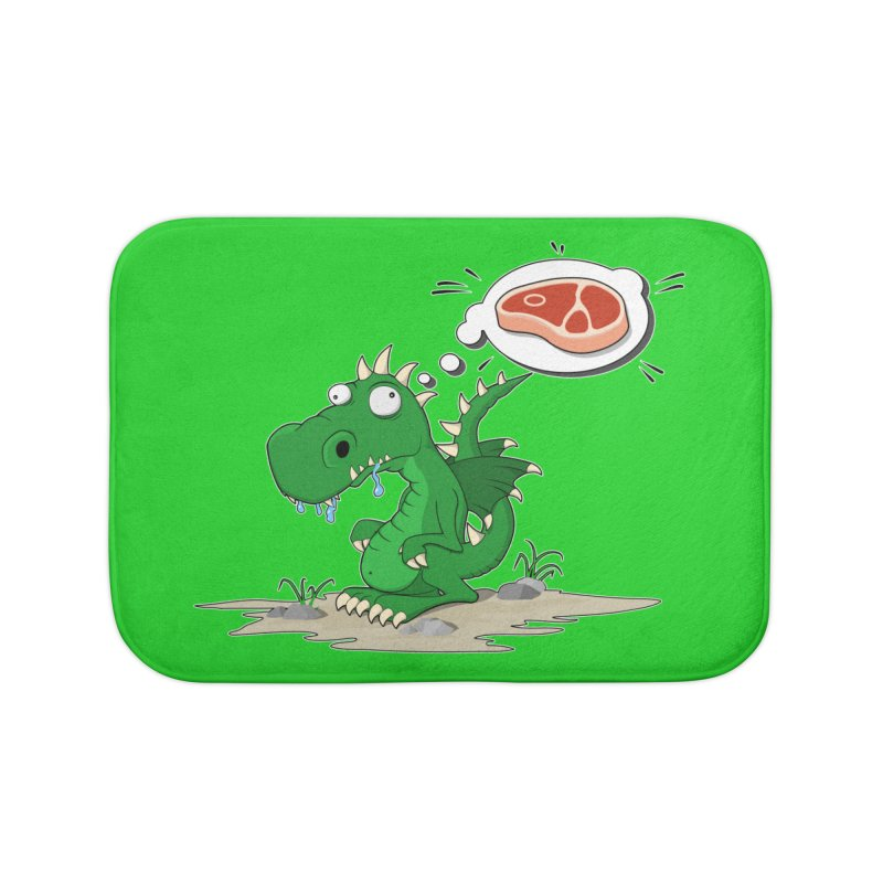 DragonRex - Meat Lover Home Bath Mat by ARTinfusion - Get your's now!