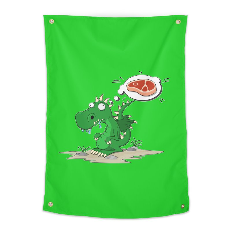 DragonRex - Meat Lover Home Tapestry by ARTinfusion - Get your's now!