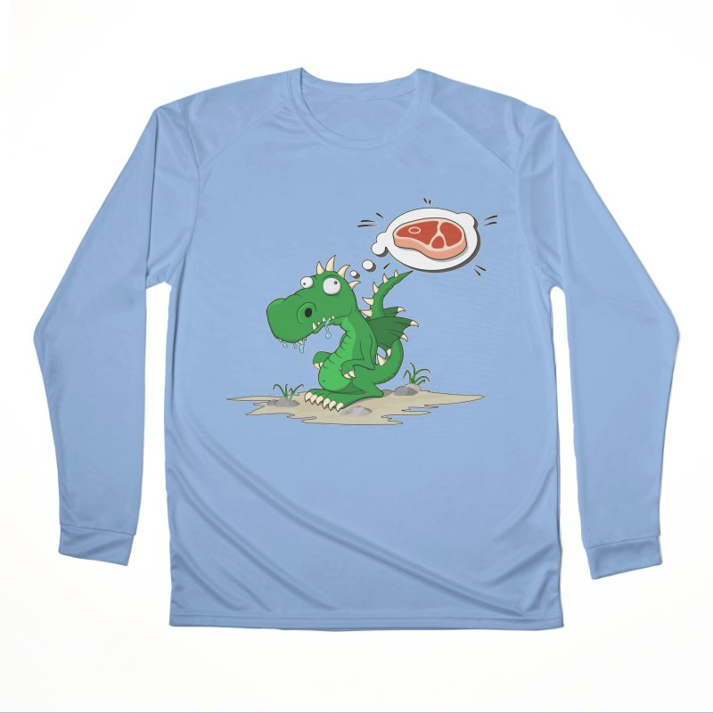 DragonRex - Meat Lover Women's Longsleeve T-Shirt by ARTinfusion - Get your's now!