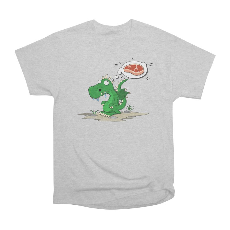 DragonRex - Meat Lover Men's T-Shirt by ARTinfusion - Get your's now!
