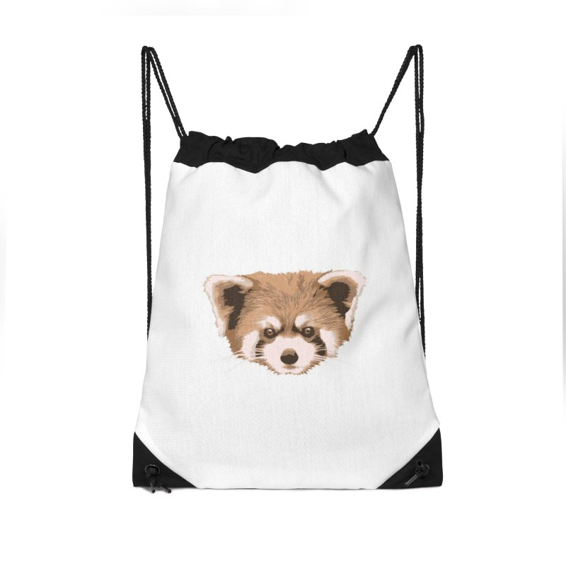 Is it a fox? Is it a panda? No it is a red panda bear! - The Red Panda - Accessories Bag by ARTinfusion - Get your's now!