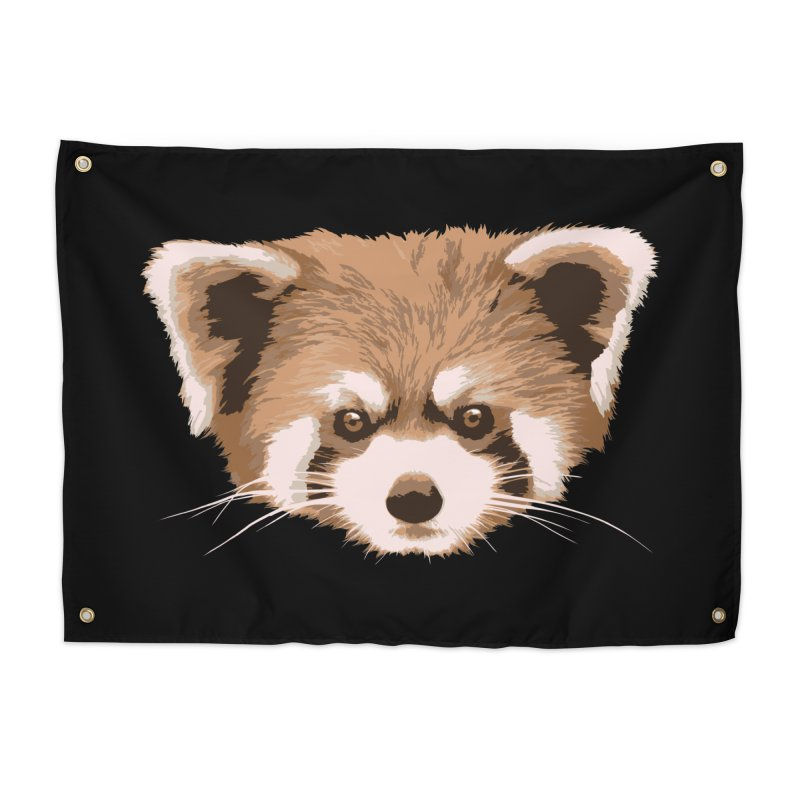 Is it a fox? Is it a panda? No it is a red panda bear! - The Red Panda - Home Tapestry by ARTinfusion - Get your's now!