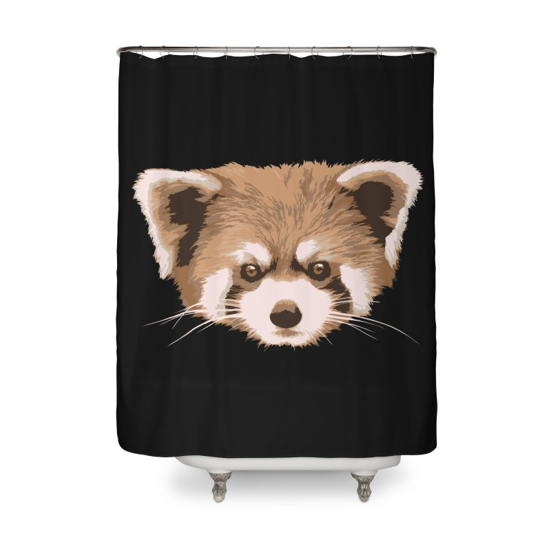 Is it a fox? Is it a panda? No it is a red panda bear! - The Red Panda - Home Shower Curtain by ARTinfusion - Get your's now!