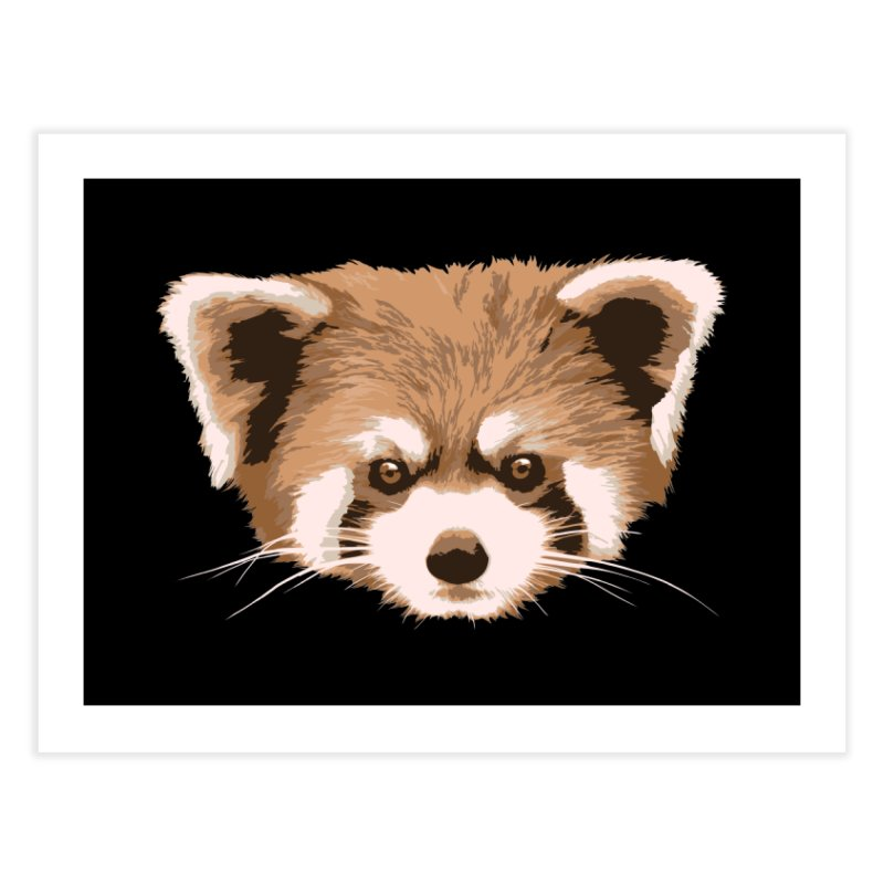 Is it a fox? Is it a panda? No it is a red panda bear! - The Red Panda - Home Fine Art Print by ARTinfusion - Get your's now!