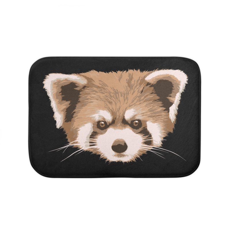 Is it a fox? Is it a panda? No it is a red panda bear! - The Red Panda - Home Bath Mat by ARTinfusion - Get your's now!