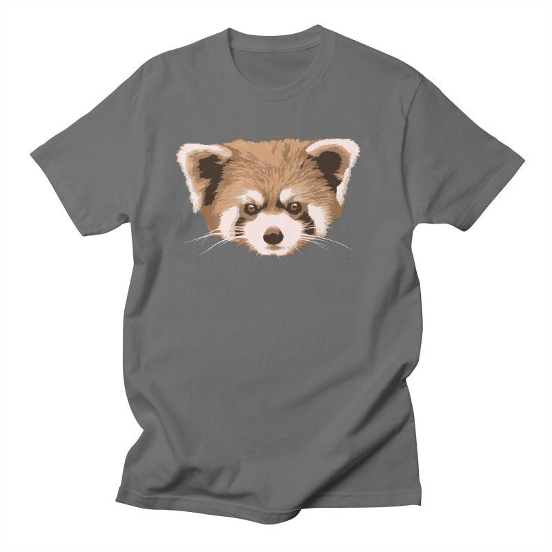 Is it a fox? Is it a panda? No it is a red panda bear! - The Red Panda - Men's T-Shirt by ARTinfusion - Get your's now!