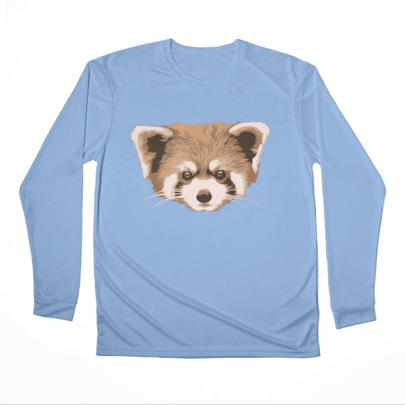 Is it a fox? Is it a panda? No it is a red panda bear! - The Red Panda - Women's Longsleeve T-Shirt by ARTinfusion - Get your's now!